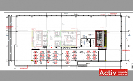 Green Court inchiriere spatii de birouri Bucuresti nord imagine plan 1