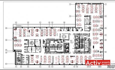 Green Court inchiriere spatii de birouri Bucuresti nord imagine plan 2