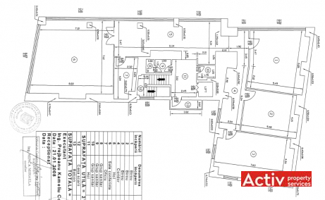 Pechea 13 birouri de inchiriat Bucuresti nord plan 6
