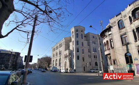 Girexim Business Center birouri de inchiriat Bucuresti central vedere cale de acces