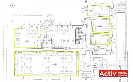 Girexim Business Center inchiriere birouri Bucuresti central poza plan