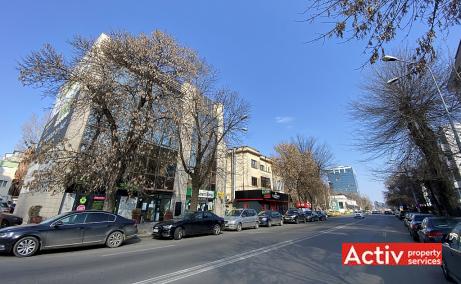 Calea Floreasca 141-143 spatii de birouri de inchiriat Bucuresti nord poza strada