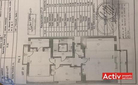 Puskin 22A birouri de inchiriat Bucuresti nord imagine plan cladire