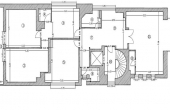 Alexandru Philippide 9B birouri de inchiriat Bucuresti central schita etaj