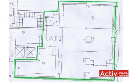 Eminescu View inchiriere birouri Bucuresti central poza plan cladire