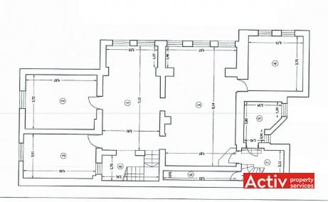 Argentina 41 birouri de inchiriat Bucuresti central imagine plan