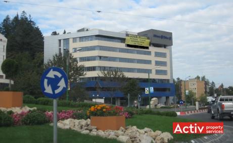 Allianz Tiriac spatii de birouri de inchiriat Brasov central poza cale de acces