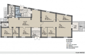 Ferdinand 21 inchiriere birouri Bucuresti central imagine plan