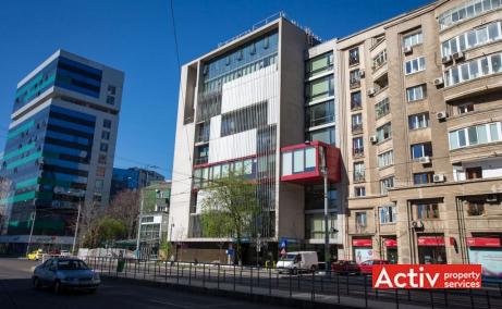 Buzesti 85 spatiu de birouri de inchiriat Bucuresti central poza cladire