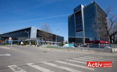 Iride Business Park închiriere birouri zona nord imagine stradală