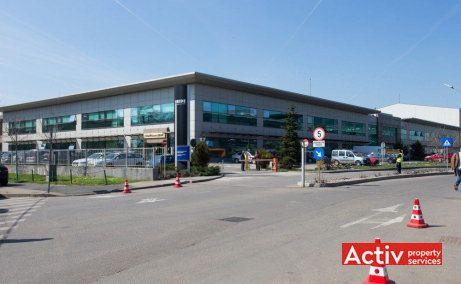 Iride Business Park birou de închiriat București nord vedere parcare