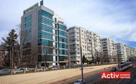 Louis Blanc spațiu de birouri centru Guvern perspectivă încadrare în zonă