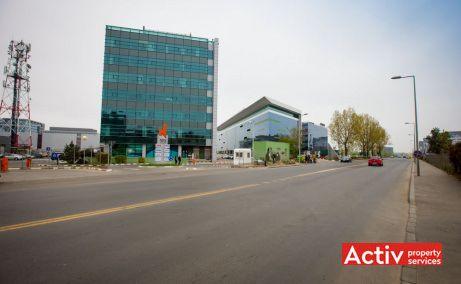 North Center spații birouri nord Pipera, vedere încadrare în zonă
