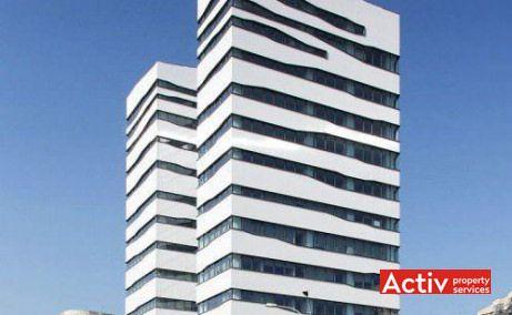 Clădirea de birouri Olympia Tower are un design unic, modern și elegant. Dacă privim din acest unghi, ni se oferă iluzia a două turnuri separate. Clădirea a fost distinsă cu premiul Cea mai bună arhitectură 2010 de către Ordinul Arhitecților din Romania.