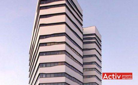 Olympia Tower birouri de închiriat București central vedere dinspre Bulevardul Decebal