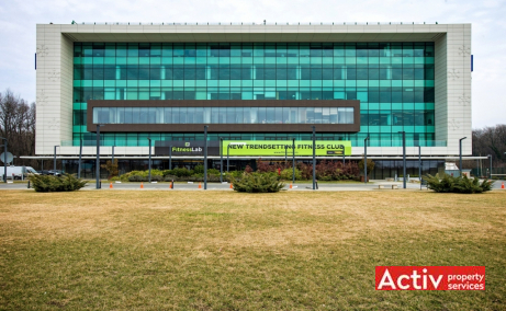 Platinum Business & Convention Center spațiu de birouri vedere fațadă