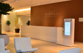 Platinum Business & Convention Center spații birouri zona nord vedere interior receptie