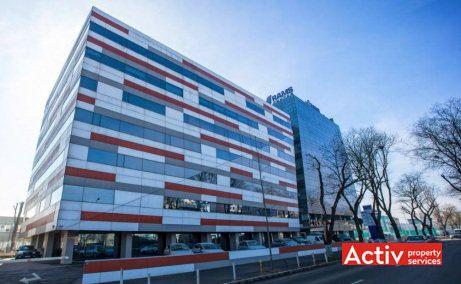 RAMS Center închiriere birouri București vedere stradală Dudești Pantelimon