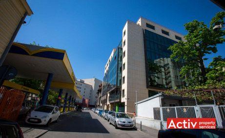 Unimed Business Center închiriere birouri zona centrală perspectivă încadrare în zonă