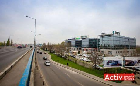 Victoria Park spații de birouri aeroport Băneasa fotografie din DN1