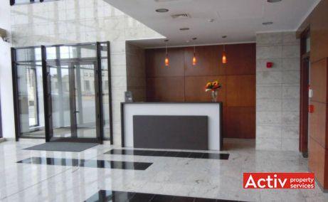 Oradea Plaza închiriere birouri Oradea central fotografie recepția complexului