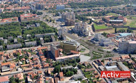 Oradea Plaza, vedere aeriana