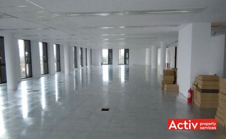 Oradea Plaza, vedere etaj open space