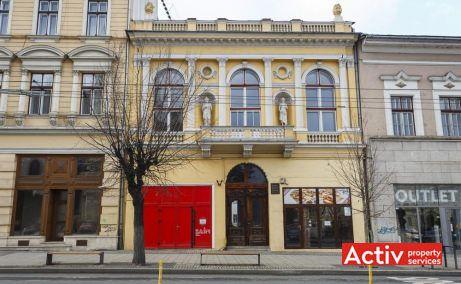 Piața Unirii 24 închiriere birouri Cluj-Napoca fotografie faţadă