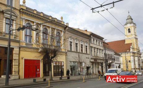 Piața Unirii 24 spații birouri Cluj vedere stradală
