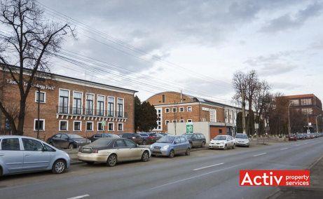 Liberty Technology Park spații de birouri Cluj-Napoca imagine din strada Gării