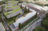 Liberty Technology Park birouri de închiriat Cluj-Napoca proiecție aeriană