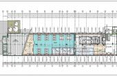 Liberty Technology Park birou de închiriat Cluj-Napoca plan spatiu liber