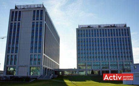 Timpuri Noi Square spații birouri centru perspectiva de ansamblu