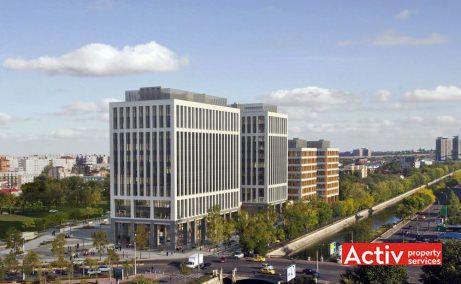 Timpuri Noi Square închiriere birouri București imagine aeriană