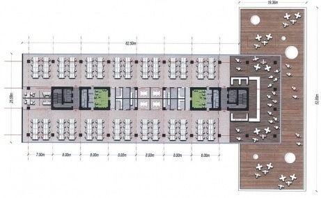 Bega Business Park Timișoara - plan etaj