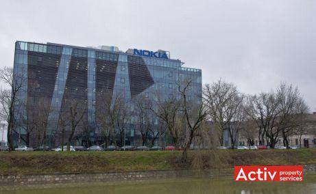BEGA BUSINESS PARK închiriere birouri Timișoara central vedere peste Bega
