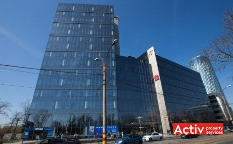 LAKEVIEW spații birouri nord perspectivă din Bd Barbu Văcărescu