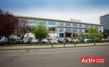 PLAZA ROMÂNIA OFFICES spațiu de birouri bd Timișoara fațadă