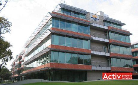 BUCHAREST BUSINESS PARK închiriere birouri zona nord perspectivă laterală