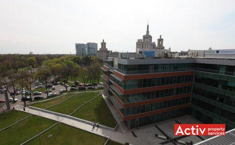 BUCHAREST BUSINESS PARK spații de birouri HERĂSTRĂU fotografie încadrare în zonă