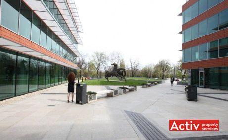 BUCHAREST BUSINESS PARK închirieri birouri București Romexpo fotografie parter