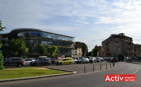Aviatorilor 8, cladire de birouri premium, vedere acces Strada Paris
