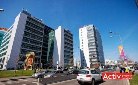 FLOREASCA BUSINESS PARK spații birouri Barbu Văcărescu perspectivă încadrare în zonă