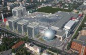 AFI PARK închirieri spații birouri București vedere aeriană dinspre est