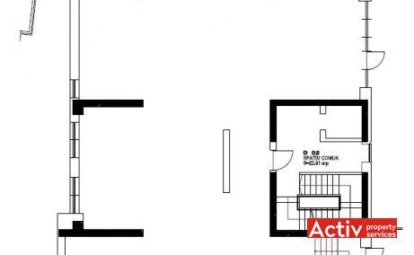 ANASTASIE PANU OFFICE BUILDING închiriere birouri centru Timpuri Noi plan
