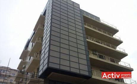 ANASTASIE PANU OFFICE BUILDING spații birouri zona centrală perspectivă clădire